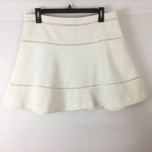 Banana Republic Textured Flare Skirt Size 8